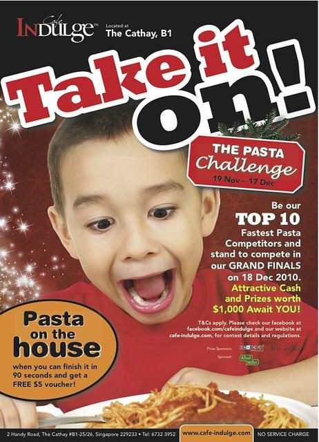 Pasta Challenge WebPoster