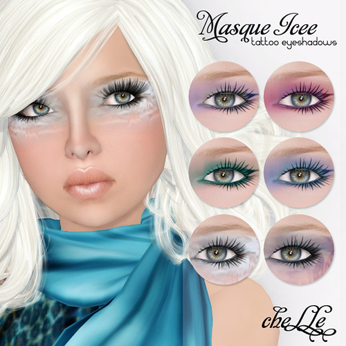 cheLLe - Masque Icee (eyeshadows)