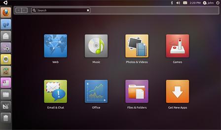 Unity Interface, Ubuntu 10 Netbook Edition