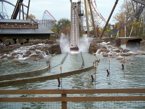 Cedar Point - Shoot the Rapids in the Fall