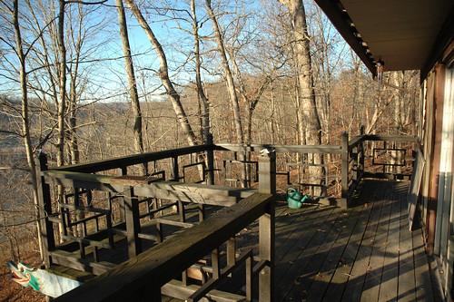 Kanji Cabin deck