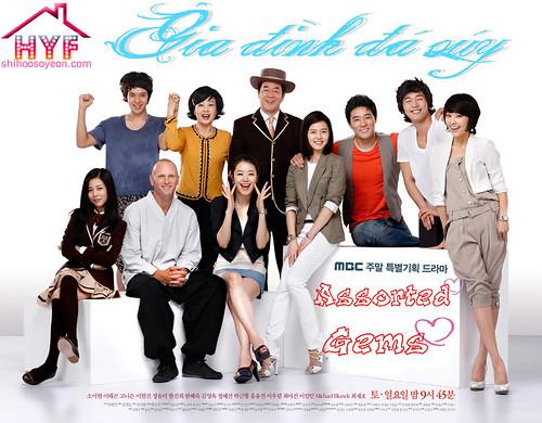 Poster phim Gia Đình Đá Quý