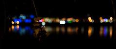 Les feuilles mortes... (Jrmie Le Guen) Tags: blue red white black france colors night 35mm dark rouge lowlight nikon noir colours darkness bokeh couleurs bordeaux bleu sombre nikkor today nuit blanc franais afs aujourdhui feuilles dx obscur quais aquitaine d3000 nikonfrance f18g leziwok jrmieleguen