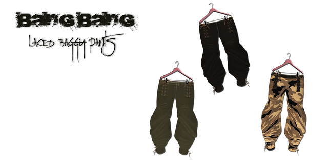 Bang Bang - Laced baggy pants