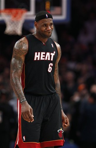 Heat Knicks Basketball