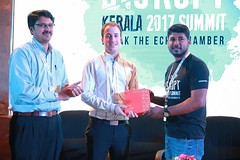 NASSCOM - FAYA:80's 50th Edition was a grand success, as Disrupt Kerala 2017 provided employees with insights into the fascinating potential of latest IT innovations. Shri Hrishikesh Nair, CEO, IT Parks Kerala, inaugurated the event by introducing Mr. Mic (Technopark Trivandrum) Tags: technopark