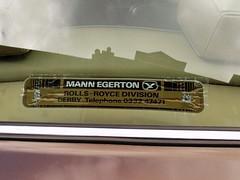 1978 ROLLS ROYCE 6750cc SILVER SHADOW 2 XRB444S (Midlands Vehicle Photographer.) Tags: 1978 rolls royce 6750cc silver shadow 2 xrb444s dealers decal sticker mann egerton derby