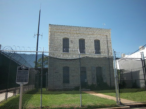 1894 Blanco County Jail, Johnson City, Texas by fables98