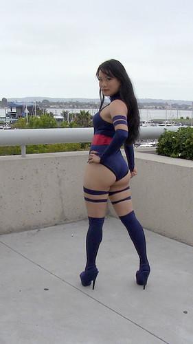 Psylocke X-Men Cosplay