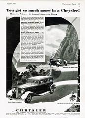 1933 Chrysler Six & Royal Eight Sedans (aldenjewell) Tags: sedan ad chrysler six 1933 royaleight