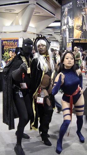 Black Panther, Storm, Psylocke