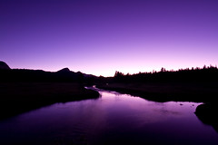 Night falls on the Tuolumne River (Robin Black Photography) Tags: blue river nationalpark twilight long exposure purple angle wide yosemite bluehour sierras sierranevada johnmuir highsierra tuolumnemeadows tuolumneriver rangeoflight