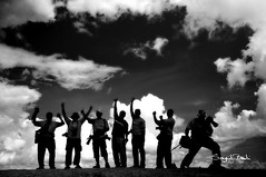 Welcome  to Lake Toba (Sayid Budhi) Tags: blackandwhite bw lake tt groupphoto kopdar laketoba danautoba tobalake fotobersama indonesiaphotographer tapanuliutara hutaginjang luarbiasaphotophy malaysianphotograpers