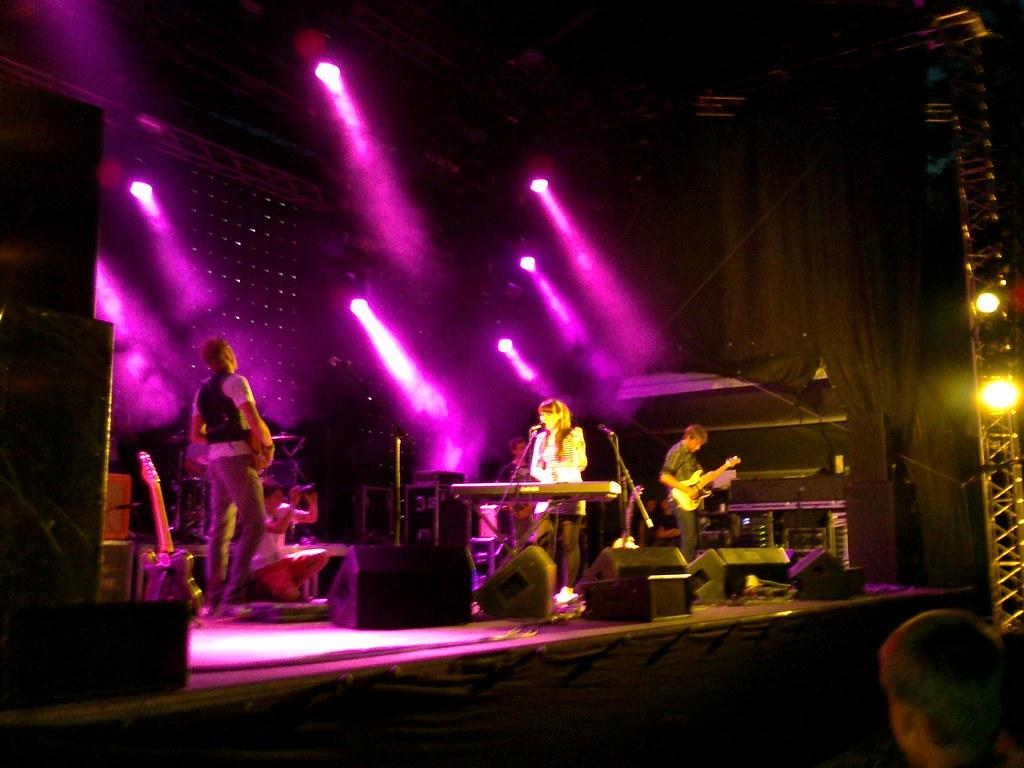 Astro'n'out Positivus festival 2010 Cesu Alus skatuve
