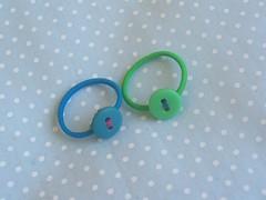 /001 (Patrcia Aguiar) Tags: boto infantil feltro fofinho florzinha presilha elastico lacinho