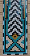Ornamental Tiles (A.Davey) Tags: iran mahan shahnematollahvali islamictile islamictilework islamictiling