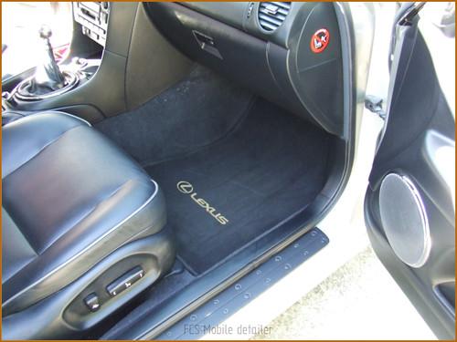 Detallado interior integral Lexus IS200-49