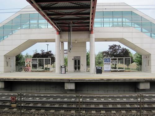 Una parada de tren