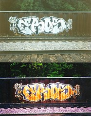 EROS 1996 Retake 2009 (-EROS-) Tags: art minnesota graffiti minneapolis eros twincities spraycanart tci graffitiart akb minneapolisgraffiti spraypaintgraffiti allkings twincitiesgraffiti erosart minnesotagraffiti erosone trainchamps erosgraffiti