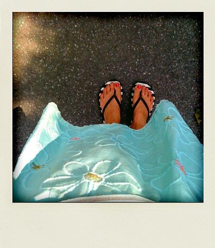 Summer skirt.
