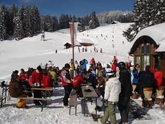 Biwak restaurant, above Brixen. (stevenhoneyman) Tags: foothills mountain snow ski alps forest lunch restaurant austria europe skiing im alpine kaiser osterreich alp tyrol wilder salve hohe brixen welt kufstein soll thale tyrolean biwak skiwelt solllandl