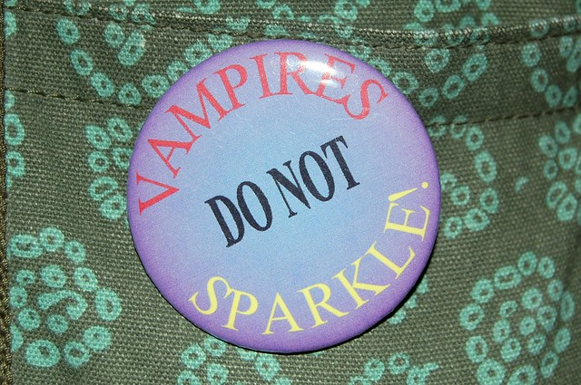 Vampires do not sparkle!