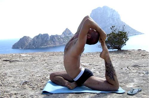 Sebastien Carincotte, Ibiza Yoga Insructor