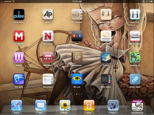 One page of my apps