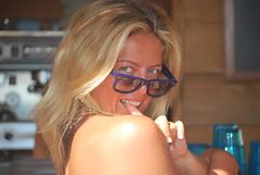 occhi - parte 1 (Robiberta) Tags: girl glasses mare estate corsica occhi blonde rayban occhiali guardare robiberta