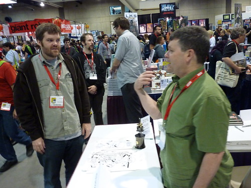 Jeffrey Brown & Peter Bagge - Fantagraphics at Comic-Con 2010