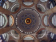 Fisheye (Selimiye Camii) (Sinan Doan) Tags: fisheye selimiyecamii mosque balkgz selimiyeklliyesi edirnecamileri edirne trkiye kubbe architecture cami mimarsinan mimarsinaneserleri simetri symmetry symmetrie osmanldnemi islam islamiyet mslman turkey   trkei trkiy edirnegezilecekyerler edirnegezi edirnefotoraflar