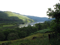Loch Lubnaig 2 (robinparkes) Tags: scotland trossachs route7 nationalcyclenetwork