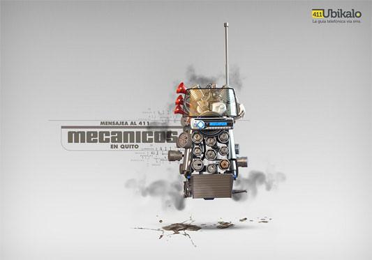Ubikalo 411 - Mecanicos