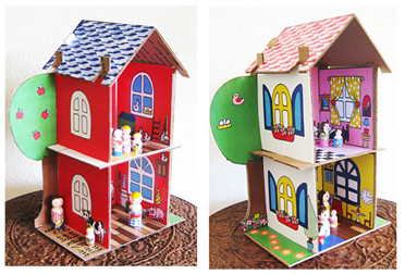 Eco Friendly Dollhouse pdf pattern Giveaway