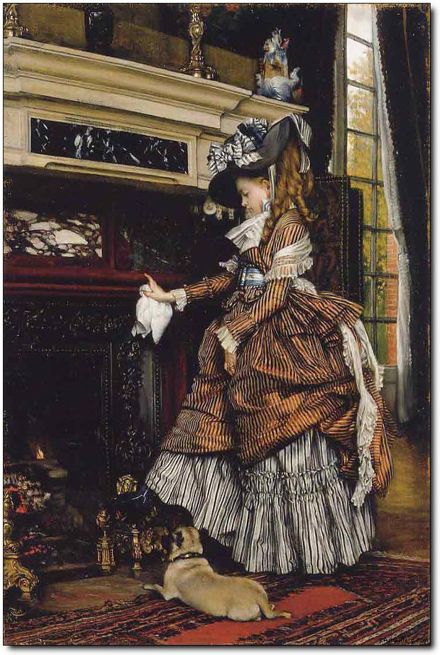 j tissot the fireplace