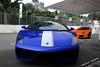 Italian Duet. (heroicVELOCE.) Tags: blue test drive duo duet spyder driver vb lamborghini supercar oranger valentino horsepower combo 550 lambo 560 bhp 570 balboni 5604