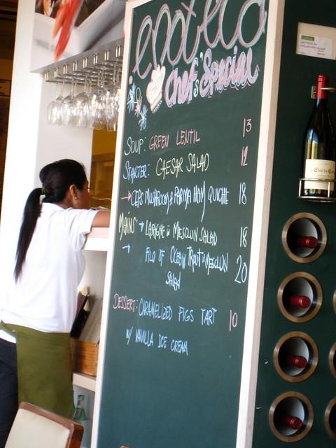 Culina Enoteca's Blackboard Specials