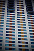 Repetition. (A. Schmidt Photography) Tags: windows sanantonio clouds skyscraper day texas july windy 2010 reptition