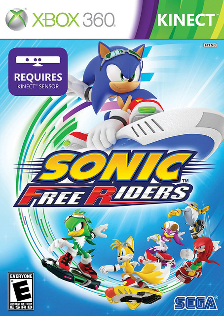 Sonic Free Riders Pack Front