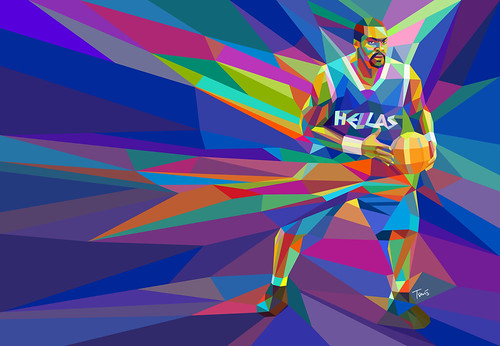 The colors of basketball (4) (Big Sofo) / Charis Tsevis