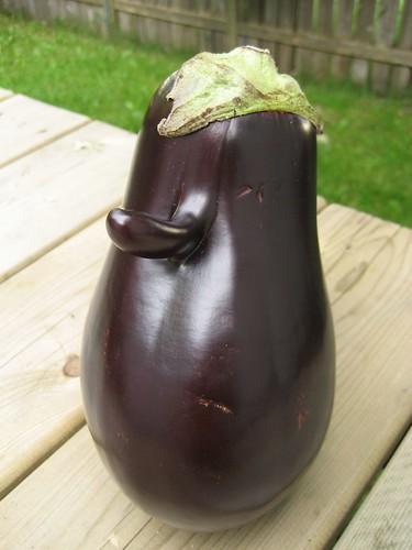 Eddie the Eggplant