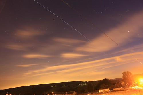 International Space Station passing over Hebden Bridge