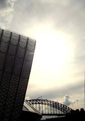 Opera House (KJGarbutt) Tags: travel sky blackandwhite bw house black travelling clouds photography opera sony sydney australia cybershot traveling kurtis sonycybershot aroundtheworld garbutt whitebandw kjgarbutt kurtisgarbutt kurtisjgarbutt kjgarbuttphotography