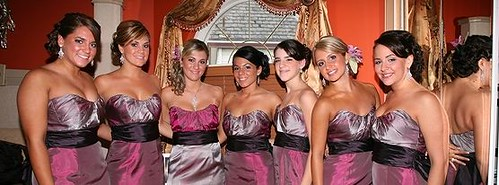 A Bridal Styles real bridal party showing off their jewels!