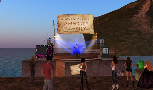 amforte clarity live music at galaxy isle