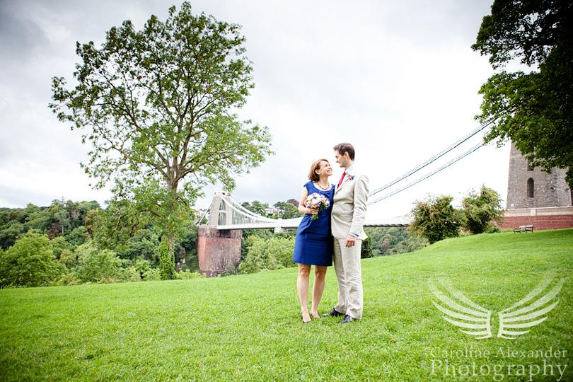 Gloucestershire Wedding Photography Cliffton Suspension Bridge Bristol 21