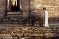 078 Attending to temple chores--Thailand (ngchongkin) Tags: thailand temple freedom niceshot nun showroom shiningstar shootingstars supreme nationalgeographic musictomyeyes favoritephotos zafiro thegalaxy ob