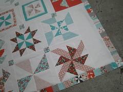 pinwheel top corner