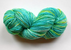 4 oz. of Cenote Azul on Cestari Fine Merino