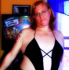 tattoo fetish lesbian decolletage curls lingerie redhead transgender lgbt freckles eyeglasses queer androgyny gender picnik genderqueer genderplay widowspeak intersex transfeminine
